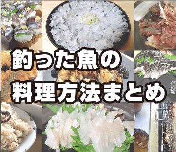 釣った魚の料理方法まとめ