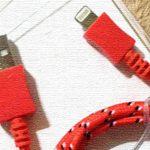 フライングタイガーのキュートなiPhone用ケーブル!!