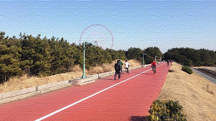 葛西臨海公園まで自転車(ママチャリ)の旅