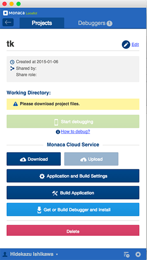 ローカルと同期できるMonaca Localkitが便利!