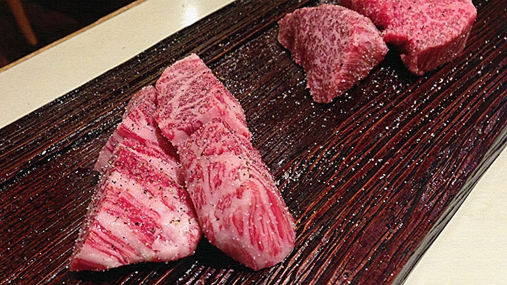 神谷町『バーベキューハウス みどりや』肉も創作料理も絶品