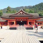 広島宮島の嚴島(いつくしま)神社!歴史を感じる美しい建築