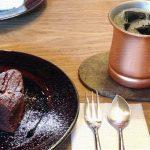 葛飾区立石『やまもと珈琲』お洒落カフェのケーキとコーヒー