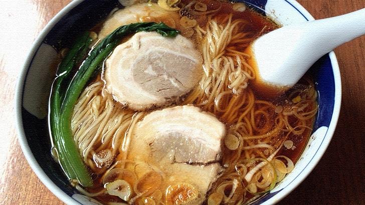 新小岩『支那麺 はしご』太肉麺と支那麺と絶品焼き餃子