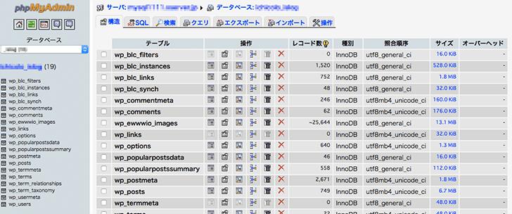 【WordPressサイト移行】phpMyAdminからDB内のURLを変更するためのコピペ用SQL