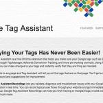 アナリティクスの動作確認に!Google Tag Assistantを利用しよう!