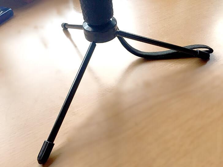 自撮り棒は三脚にもなる格安のSmatree SmaPole Q3がオススメ!