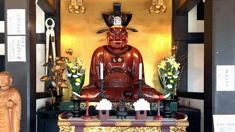 葛飾名所の閻魔大王坐像|東小岩にある上品寺(じょうほんじ)へ