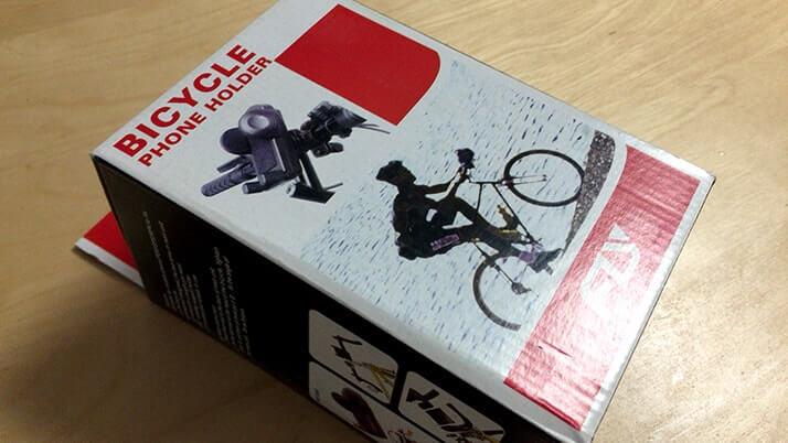 自転車用スマートフォンホルダー(as20107)安価だが一点難あり