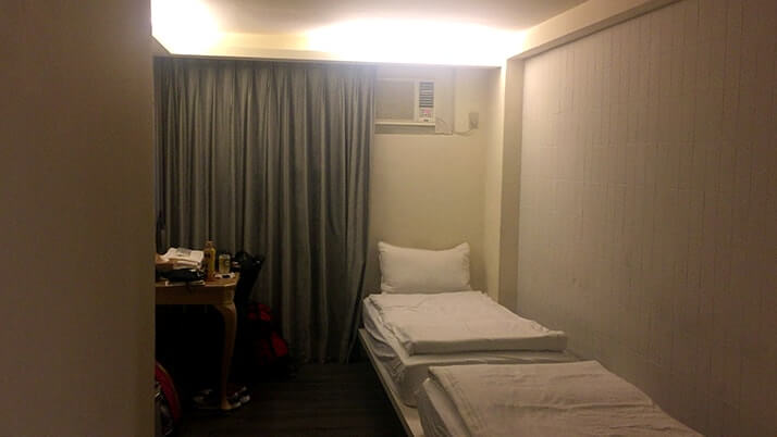 台湾格安ホテル!西門駅近くのCheers Hotelがおすすめ!【台湾旅行】