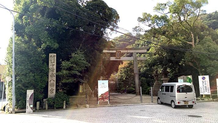 「やわた走井餅老舗」で走井うどん!石清水八幡宮への参拝前後におすすめ!