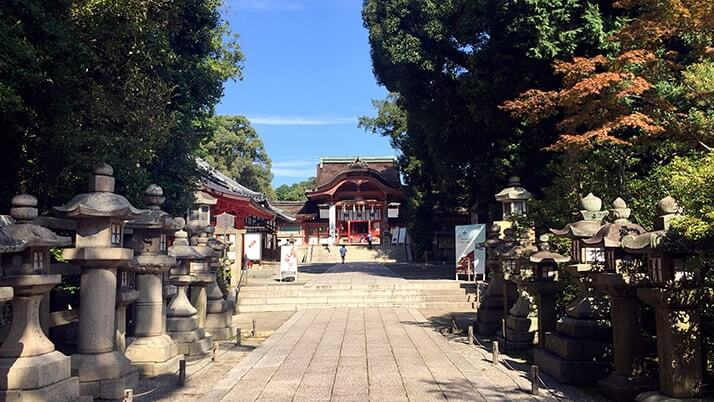 京都「石清水八幡宮」2016年に国宝指定の日本三大八幡宮の一社