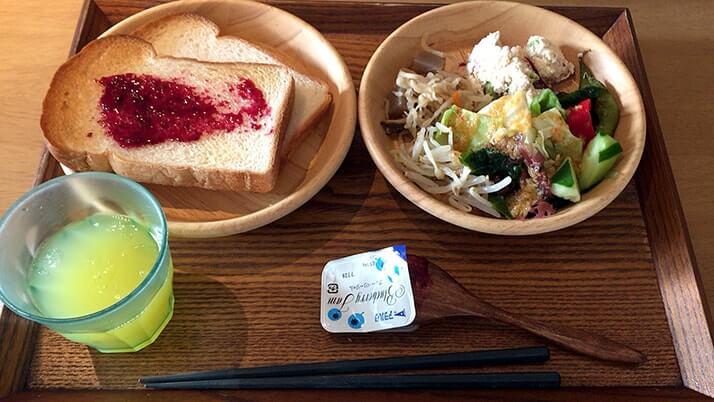 都野菜 賀茂|朝採り野菜バイキングで栄養たっぷりの朝食!【京都旅行】