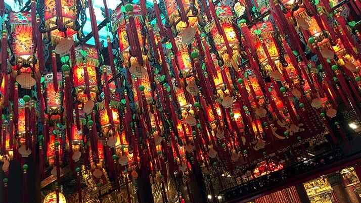 台北天后宮|西門町にある地元民が多く参拝する廊【台湾旅行】