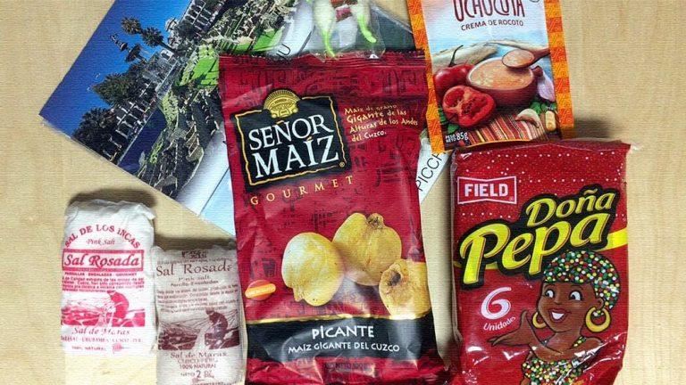 ペルー土産が楽し旨し|定番ピンクソルトにビールにお菓子!