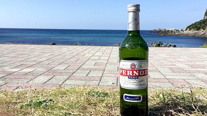 一番好きな酒はペルノ(PERNOD)!キャンプなんかにも合いますよ