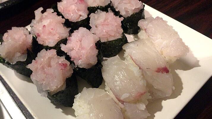 釣った特大ヒラメをさばく!刺身と寿司にして肝醤油で堪能