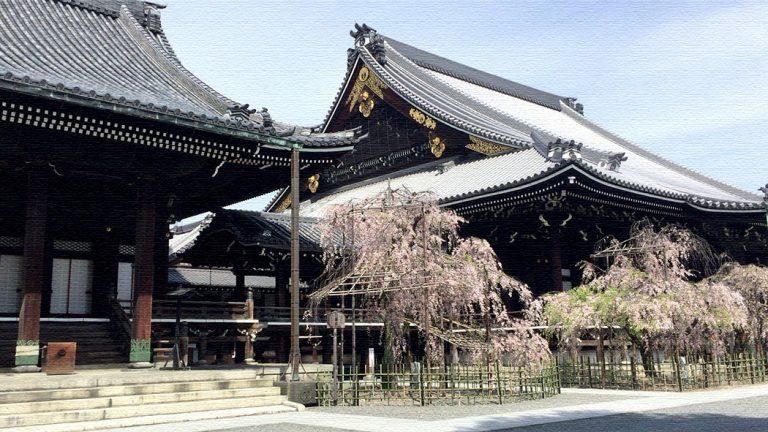 京都「本山佛光寺」境内にデザインストアがある古と新が融合する寺