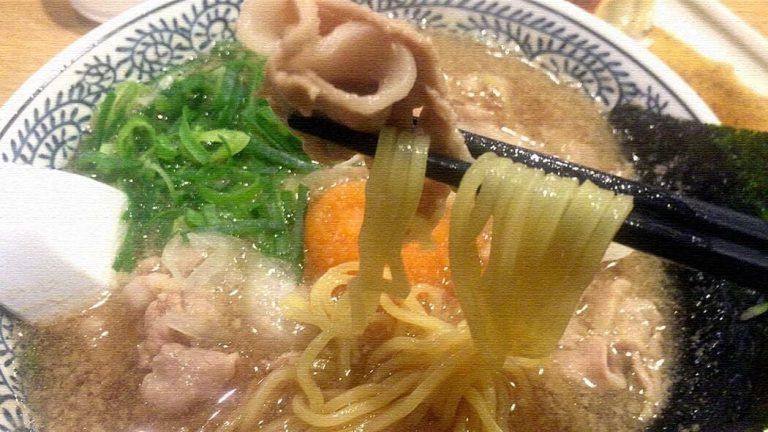 ラーメン丸源|甘みのあるスープに柔らかい豚肉…肉そばが旨い