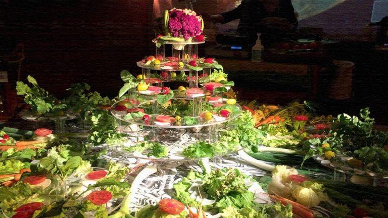 野菜でアート!?美しくおいしいアートイベントArtrium「Salad Session」