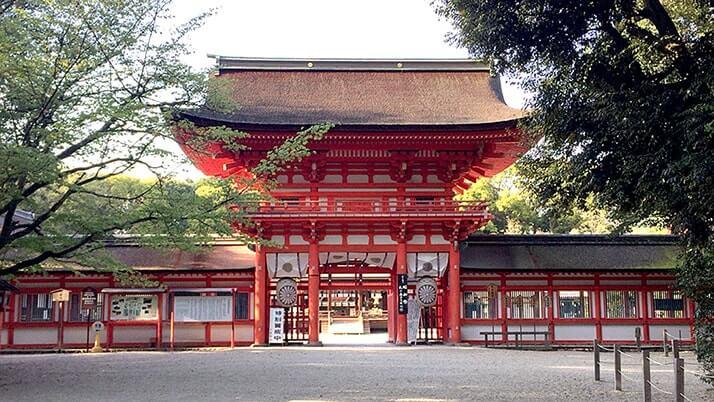 京都の世界遺産「下鴨神社」へ!アニメの舞台でもある古都京都の文化財