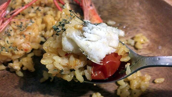 テナガエビ料理パート2!釣ったテナガエビでパエリア