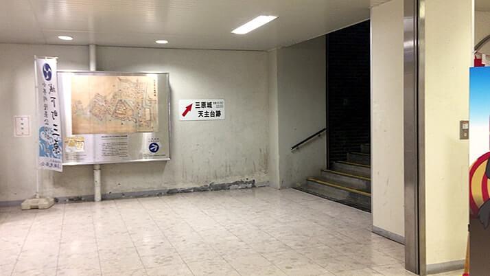 三原城跡|駅と一体化!?浮城とも呼ばれた城跡は三原駅横にあり【広島三原旅】