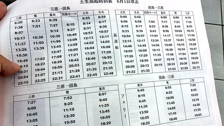 三原港から離島「佐木島」へ!船の時間やレンタサイクルなど注意点まとめ【広島三原旅】