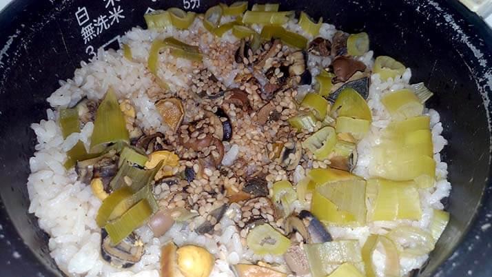 旨い!マツバガイの炊き込みご飯にサザエの壺焼きでプチBBQ