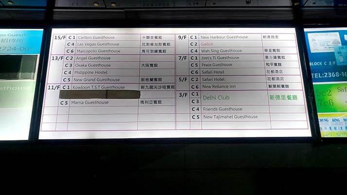 """重慶大厦にある安ホテル""""Safari Hotel""""に夫婦で宿泊!【香港】"""