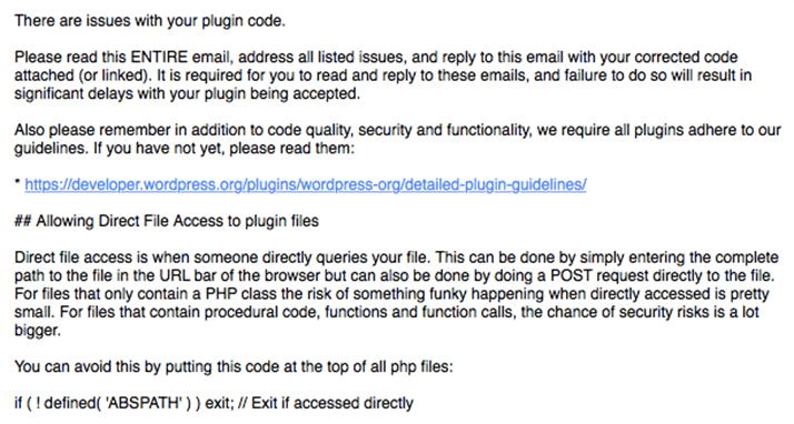 「if ( ! defined( 'ABSPATH' ) ) exit;」って?【WordPressプラグイン申請】