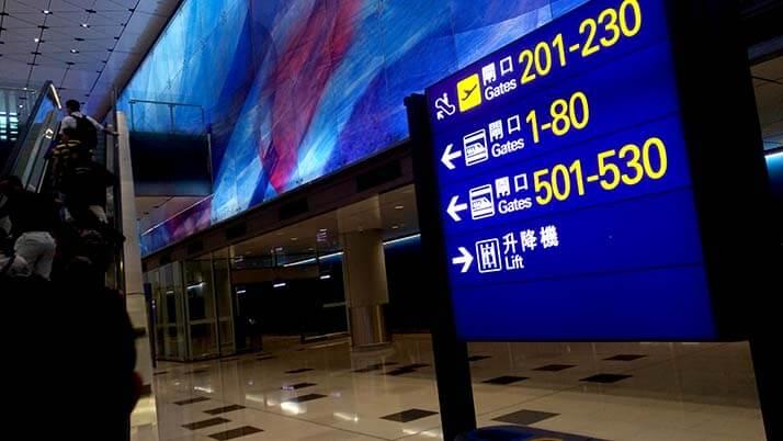 香港空港からLCCで出発する際には注意!時間に余裕が必要です