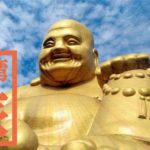 圧巻!30mの金色大仏!宝覚寺の弥勒大仏の笑顔に癒される