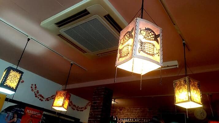 豪徳寺「ブッダ 」で日本風(?)ガパオライスにフォーセット