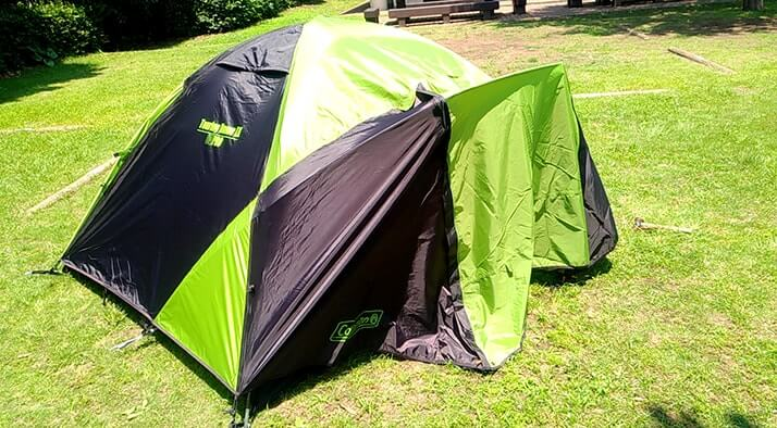 テント|コールマン(COLEMAN)ツーリングドームLX設営レビュー!デイキャンプしてみたよ