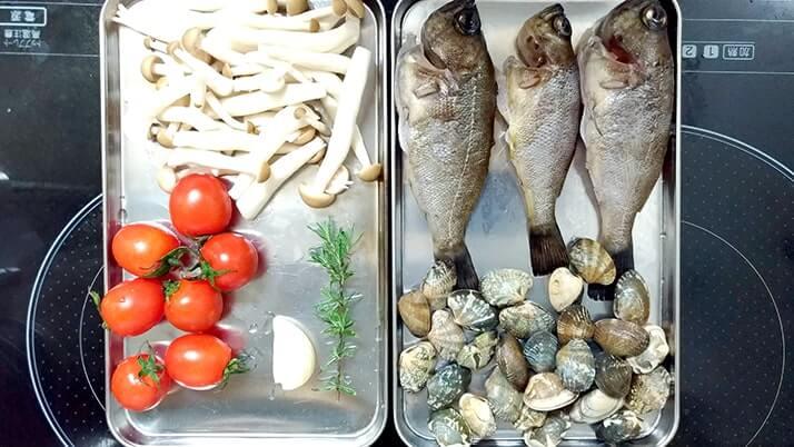 釣ったメバルでアクアパッツァ!〆パスタも絶品のイタリアン釣りメシ