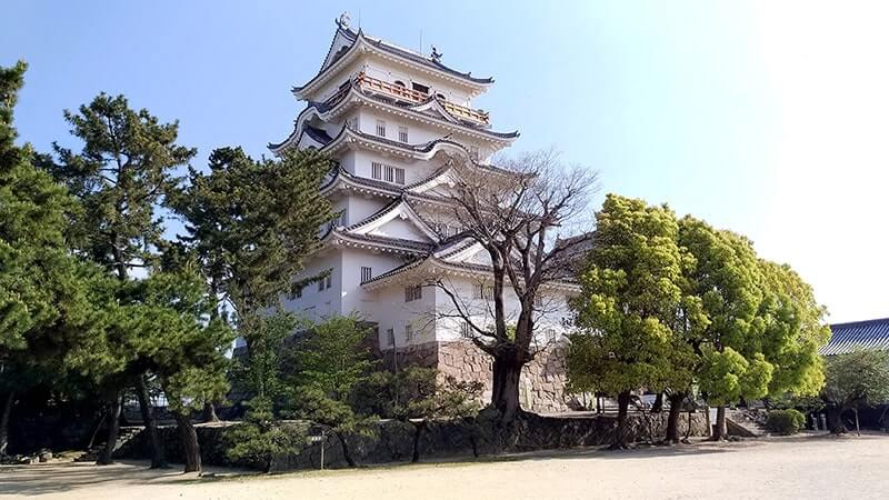 福山を訪れたらまずは駅の目の前にある福山城へ!【広島旅】