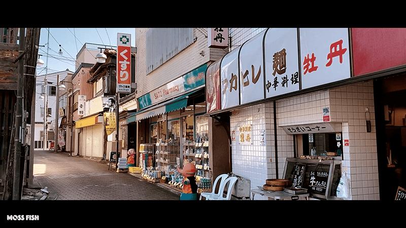 三崎港周辺ぶらり散歩旅!観光と海南神社と町中華