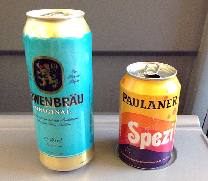 ドイツ列車ICEの食堂車で気分は最高!フランクフルト→ベルリン