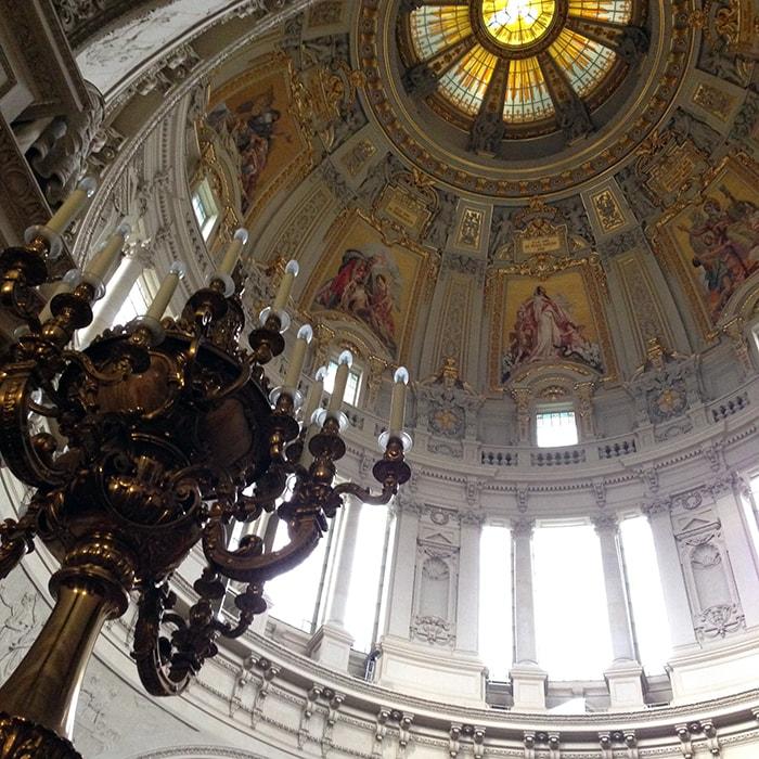 ベルリン自転車巡り!博物館島のペルガモン博物館等と大聖堂