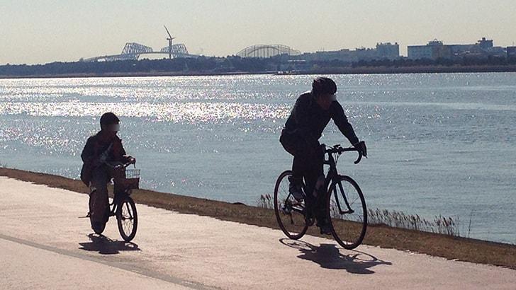 葛西臨海公園まで自転車(ママチャリ)の旅 水族館で遊ぶ!