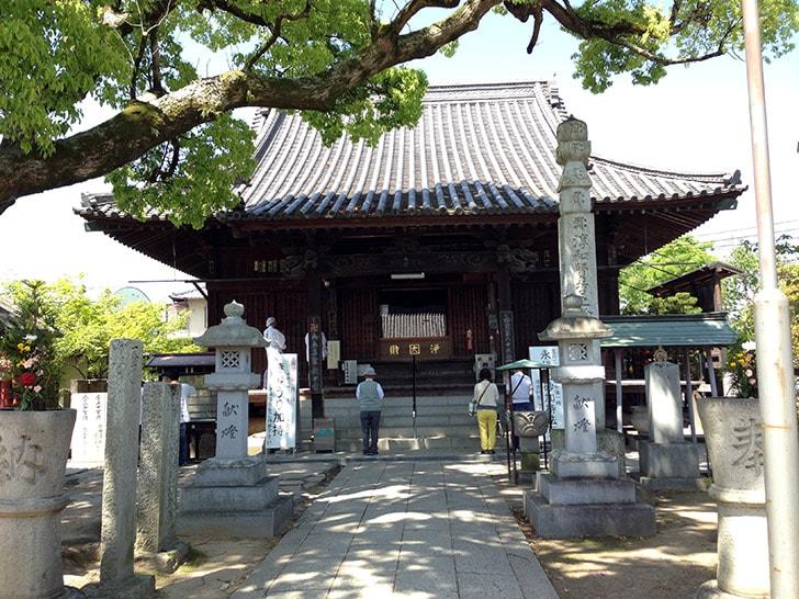 香川県高松市「一宮寺」観光途中に立ち寄った巡礼第八十三番札所