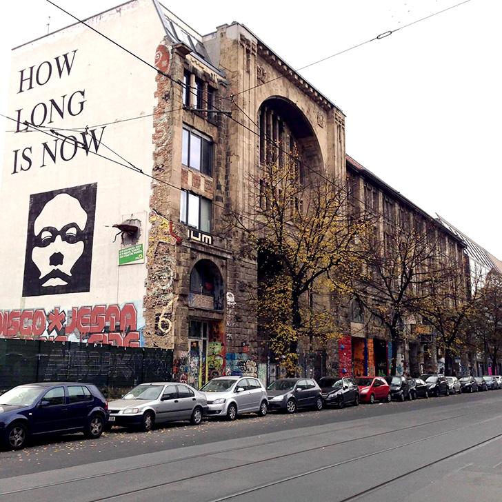 Tacheles(タヘレス) - ベルリンのアーティストが集まった廃墟