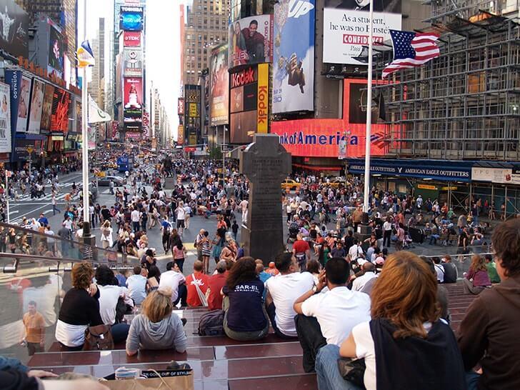 ひたすら歩き回ったアメリカニューヨーク・マンハッタンでの4日間【旅行記前編】
