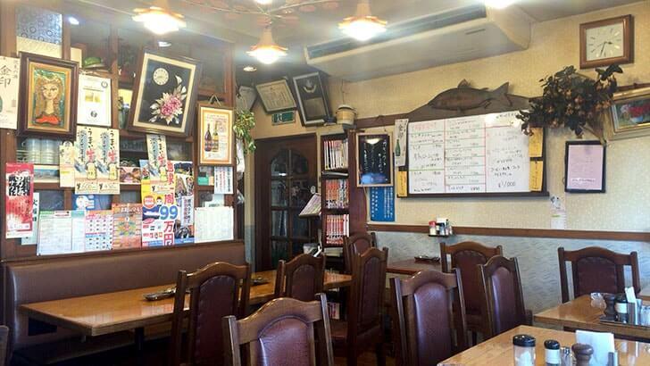 葛飾区立石の洋食屋『チロル』地元民に愛されるご飯がすすむ味