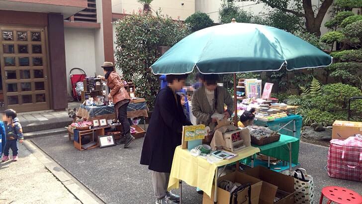 『テラデマルシェ』上野のお寺 宋雲院で開催の何でも市