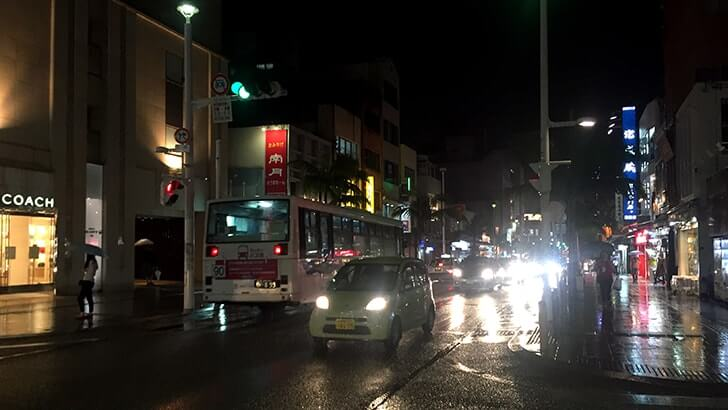 沖縄那覇国際通りから市場本通りへ 「とぅばらーま」で沖縄地料理