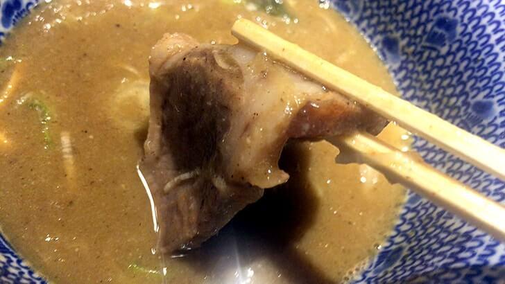 六厘舎大崎店で定番つけ麺!つけ麺専用ライス付けてもう最高!!