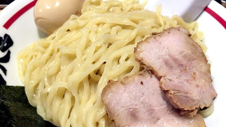 上野『超大吉』ハッピーな店名のラーメン屋で食す味玉つけ麺