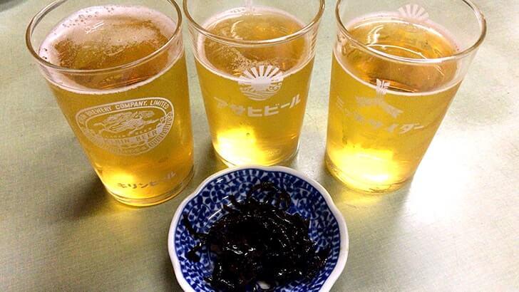 ビールにサンマーメンに中華丼!『一福』横須賀どぶ板通りの大衆食堂